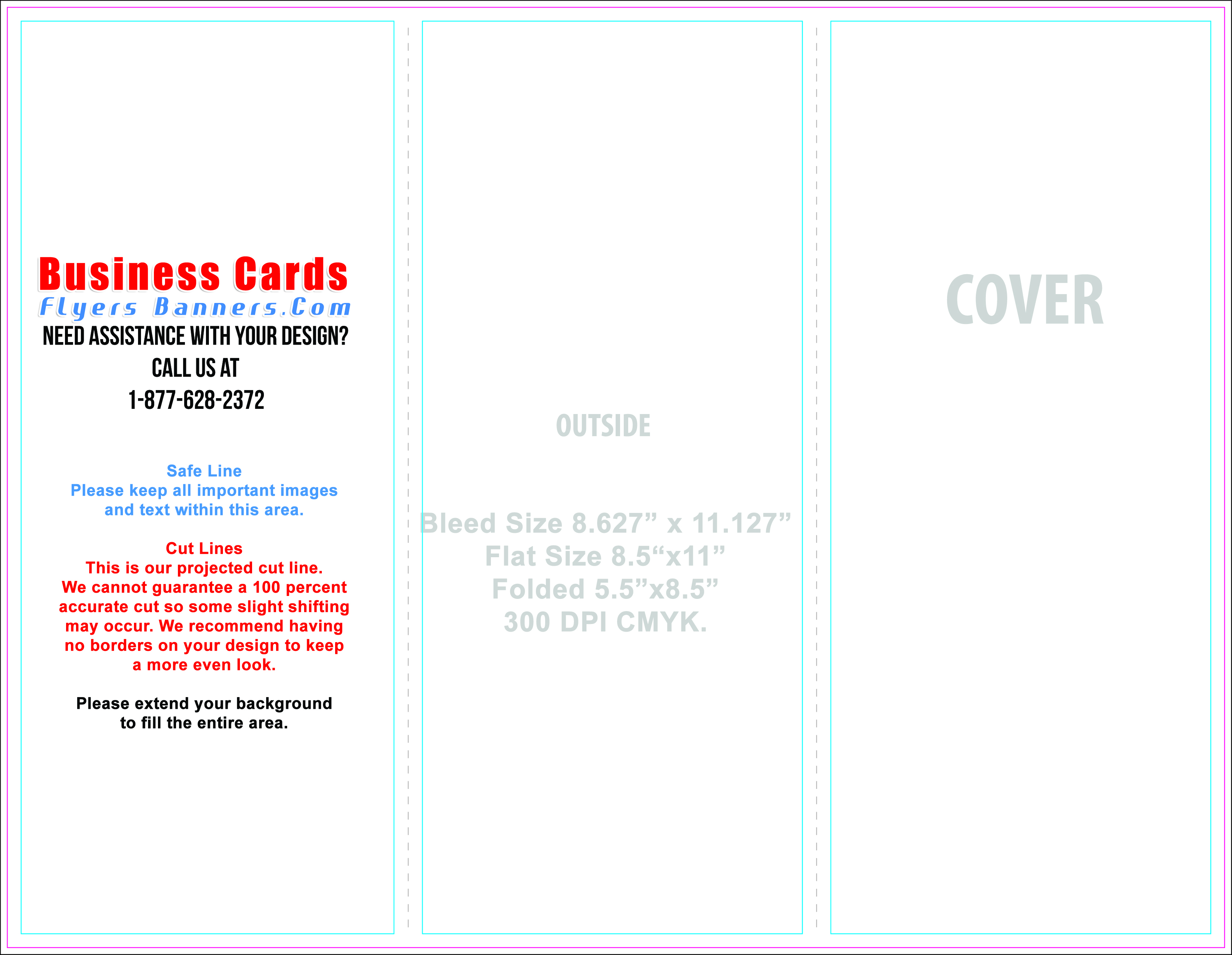 Brochure Templates Business Cards Flyers And Banners - 85 x 11 brochure template