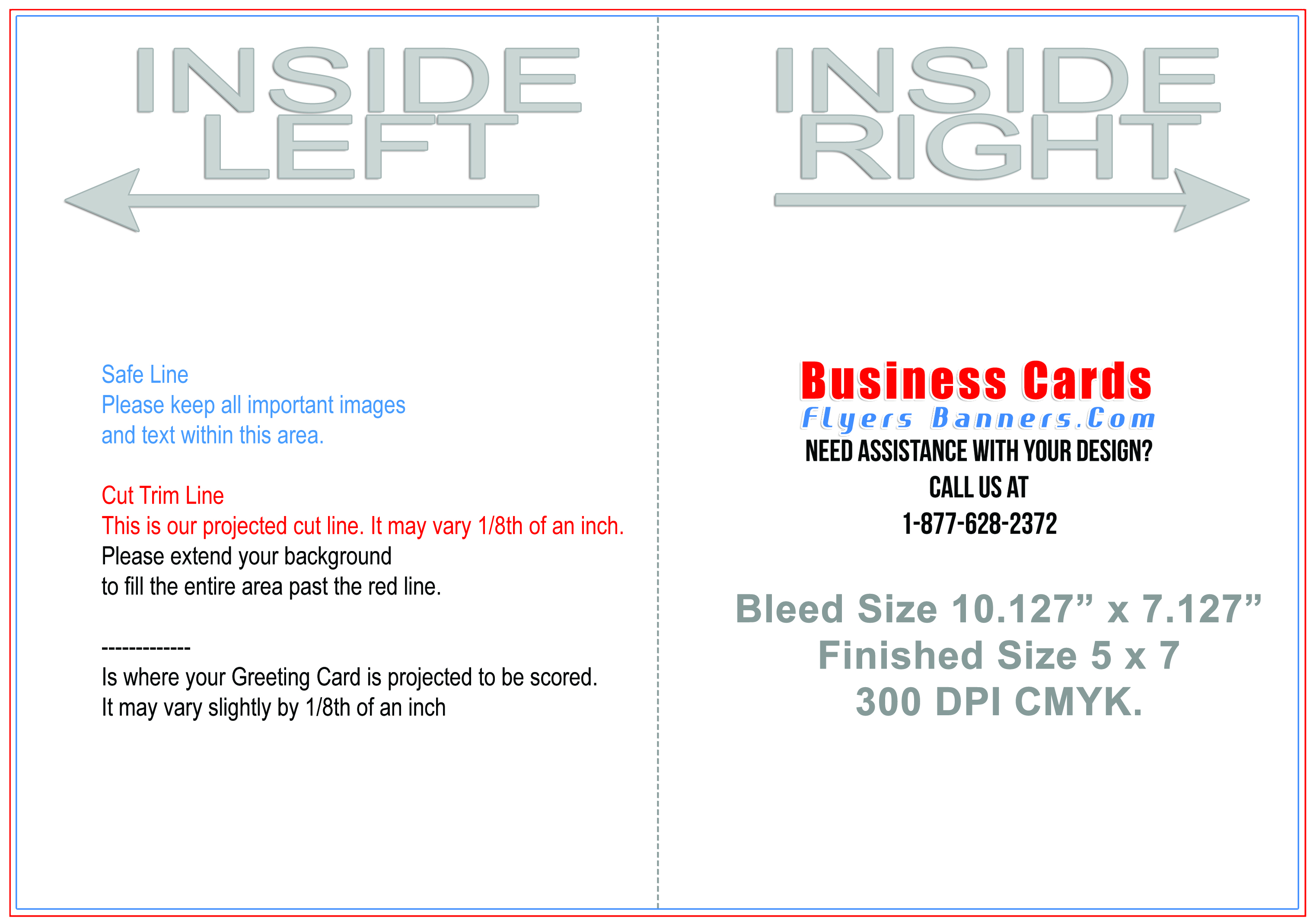 Greeting Card Templates Business Cards Flyers And Banners - 5x7 greeting card template