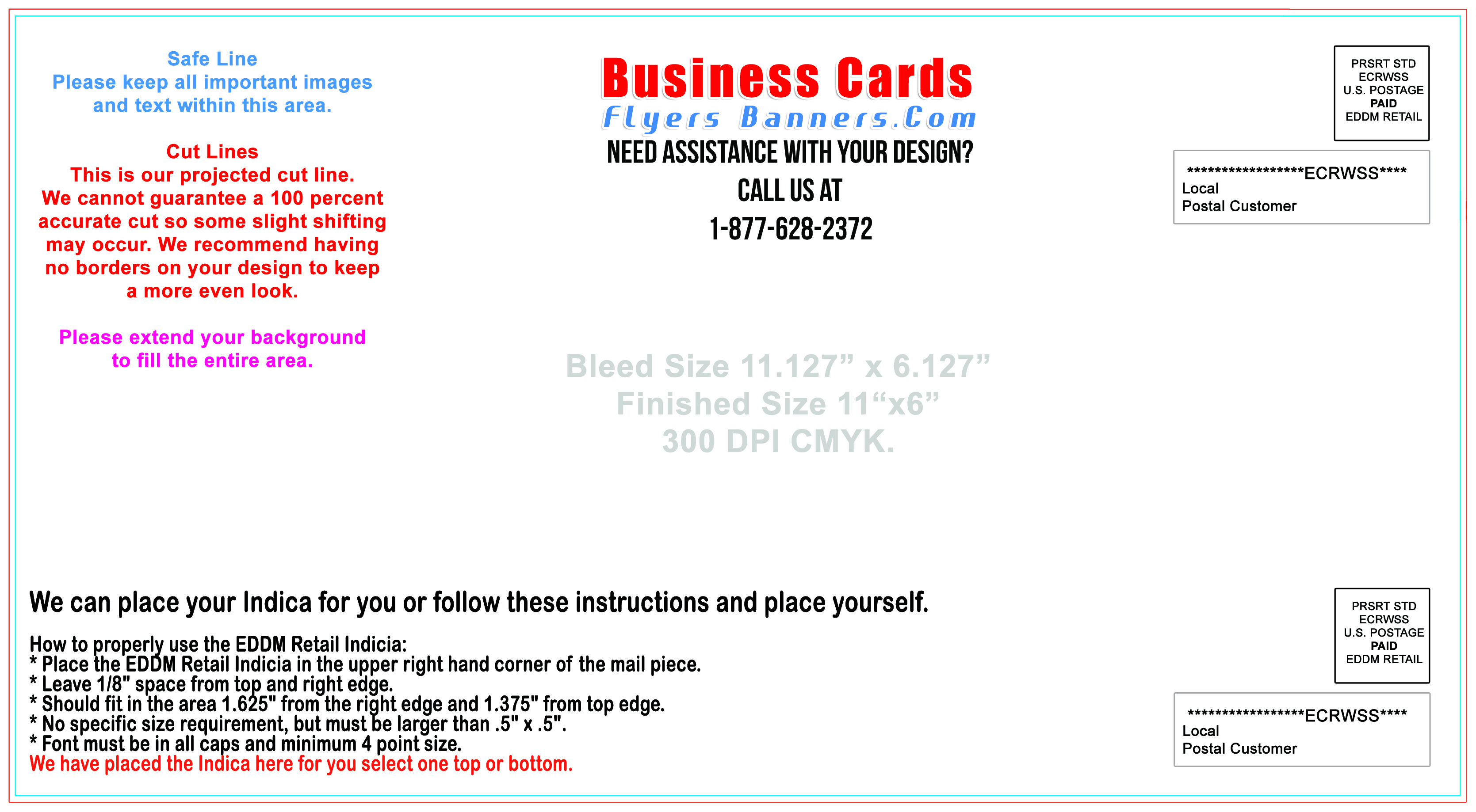 Postcard templates business cards flyers and banners eddm postcard template 116 g wajeb Gallery