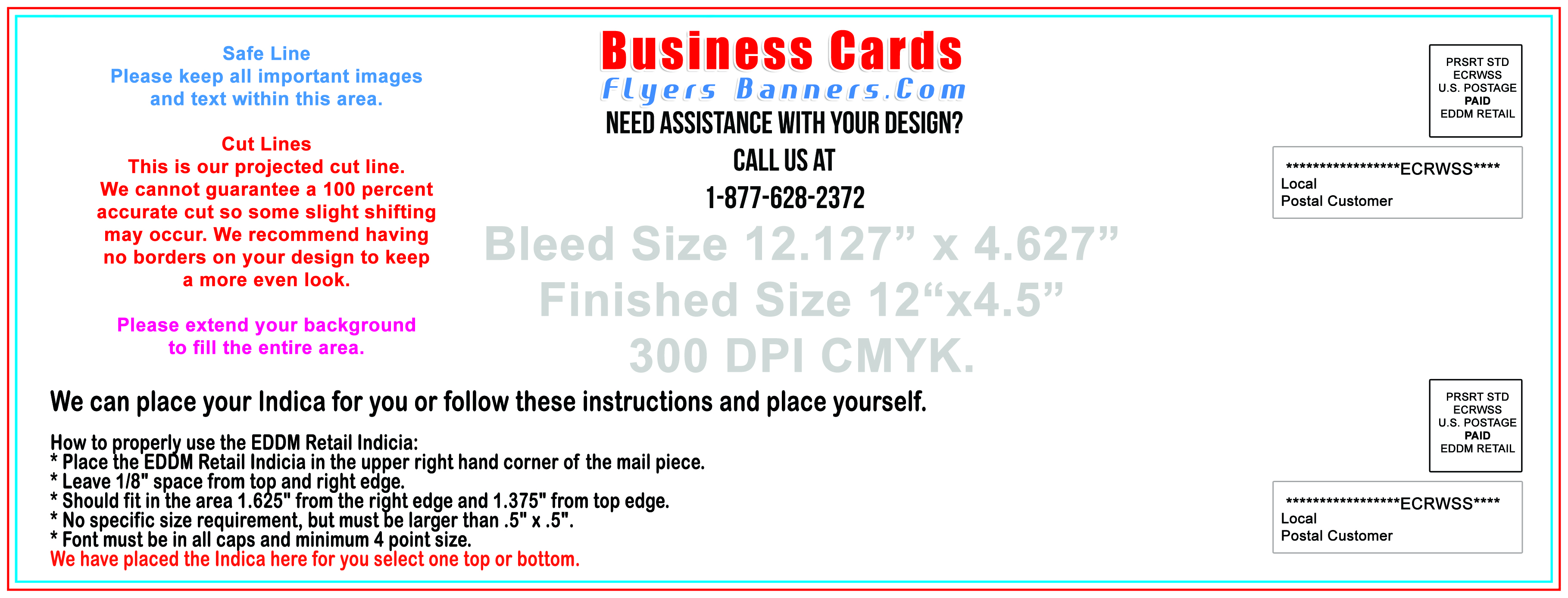 EDDM Postcard Templates Free Shipping And Low Prices - Eddm postcard template