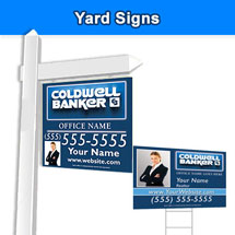 Coldwell Banker Signs Business Cards Flyers And Banners