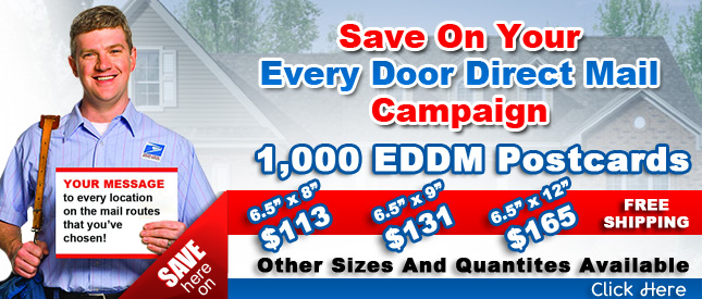 Every Door Direct Mail Postcards Usps Postcard Printing