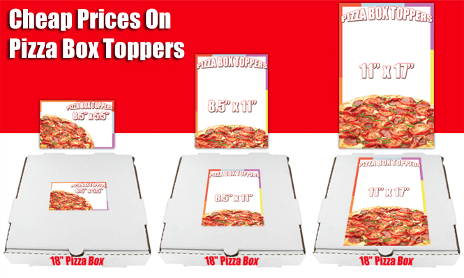 Cheap Pizza Box Toppers With Free Shipping Low Prices
