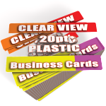 Clear Business Cards Printed Cheap
