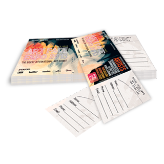 custom event ticket template