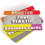 Frosted Plastic Business Cards Printed Cheap