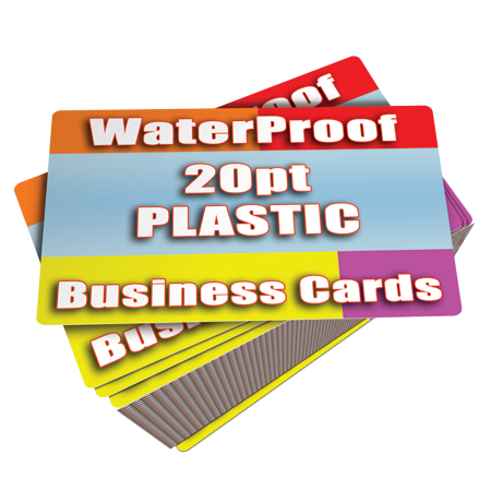 Cheap White Plastic Business Cards 1000 $105 Free Shipping