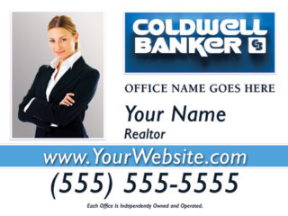 Coldwell Banker 24x18 Sign template 2w