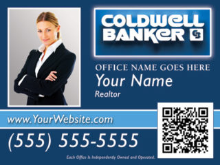 Coldwell Banker 24x18 Sign Template 3b