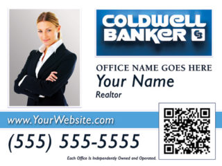 Coldwell Banker 24x18 Sign template 3w