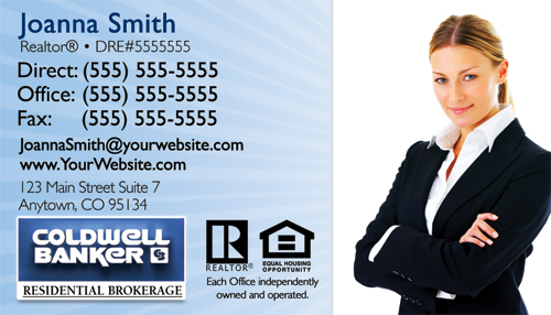 coldwell banker businesscard design 1a - Coldwell Banker Business Cards