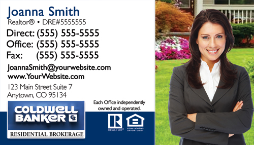 Coldwell banker business card templates cheap prices coldwell banker business card design 2b fbccfo Image collections