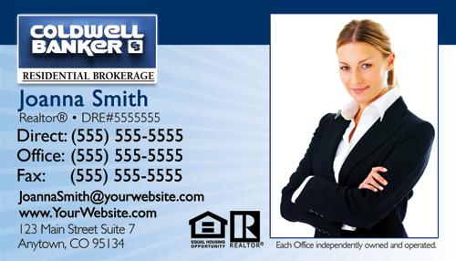 Coldwell banker business card templates cheap prices coldwell banker business card design 10b fbccfo Image collections