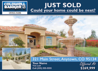 Coldwell Banker Just Listed Postcards - Business Cards Flyers and ...