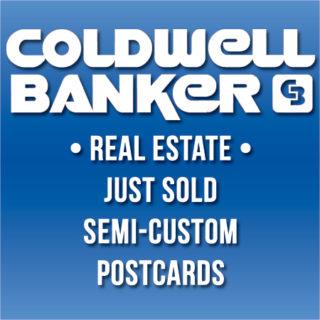 coldwell banker eddm just sold postcards
