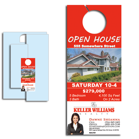 3 5x8 5 Cheap Door Hangers 1000 for $97 FREE SHIPPING