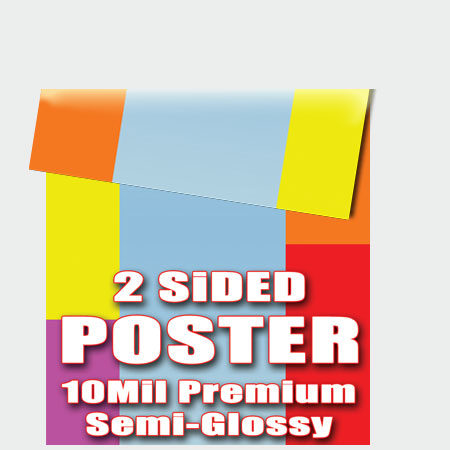 double sided poster printing