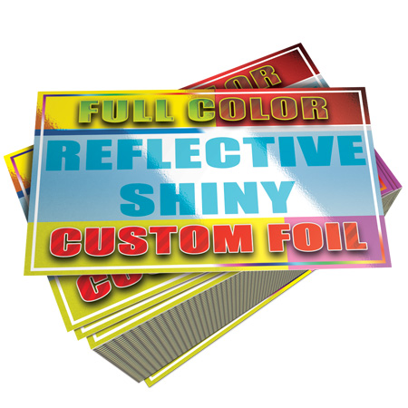Foil Business Cards Cheap 1000 for $100 with Free Shipping