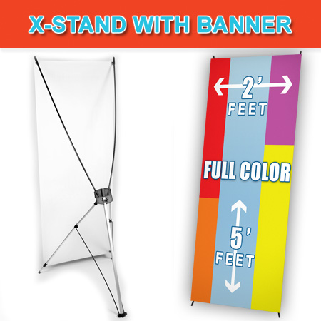 x-banner-with-stand cheap